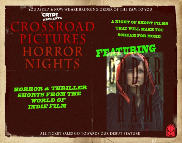 Horror Nights Crypt Presents Poster