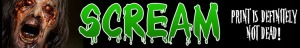 SCREAM Horror Magazine Logo