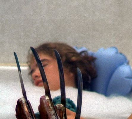 How do 80s Slasher films like A Nightmare on Elm Street represent women?