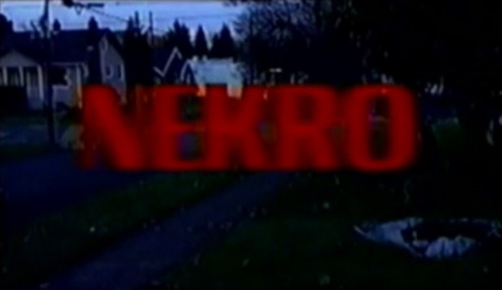 Nekro 1998 short horror film review