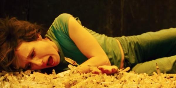 Saw II needle pit scene - most disturbing film scenes ever
