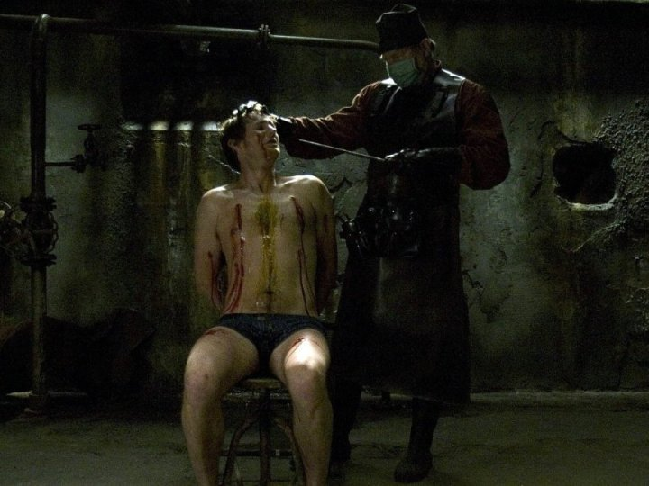 Is Torture Porn a Fair Title? Scene from Hostel 2005 Eli Roth