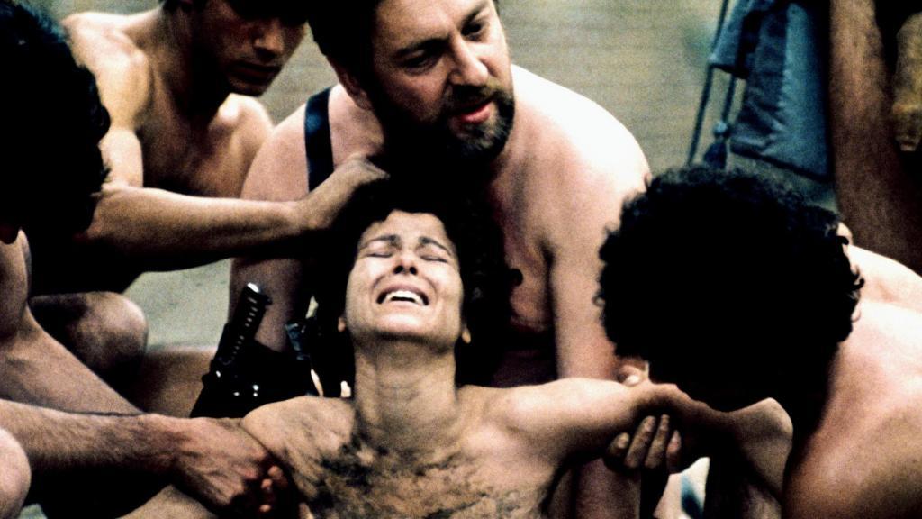 Salo 1975 Pier Paolo Pasolini Italian extreme exploitation cinema film Marquiz De Sade 120 Days of Sodom