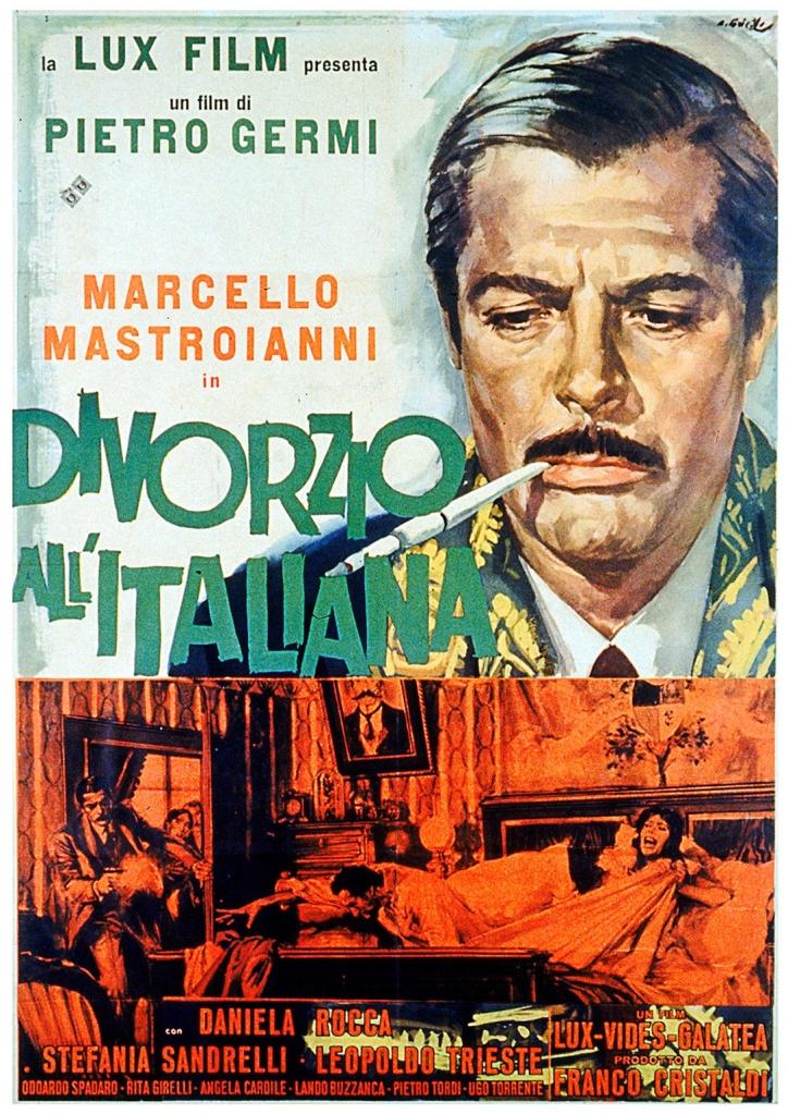 Divorce Italian Style 1961 un'film Italiana commedia