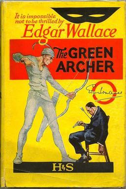 The Green Archer by Edgar Wallace giallo book libro